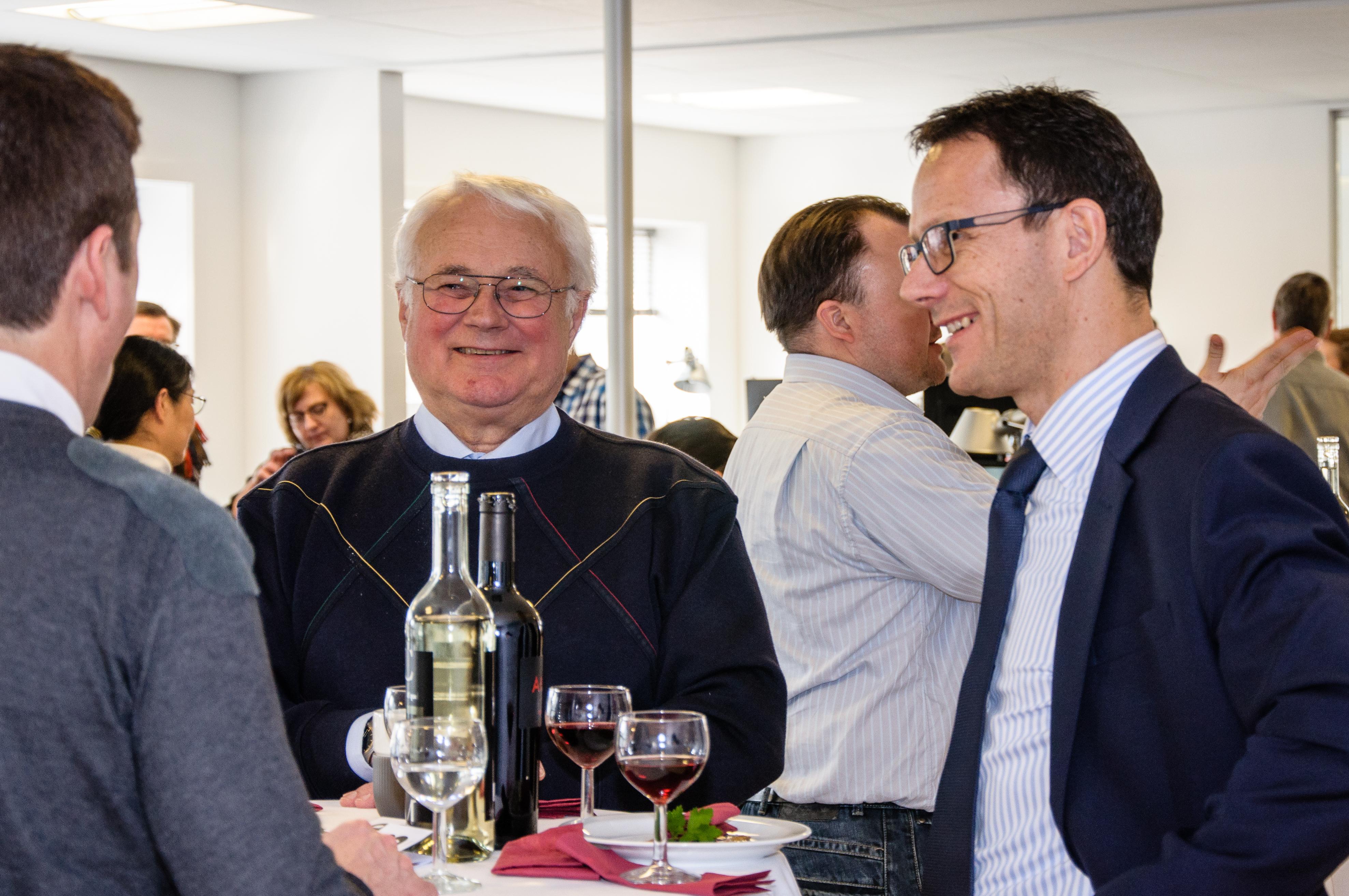 Billeder fra reception i Acubiz' nye lokaler • Acubiz