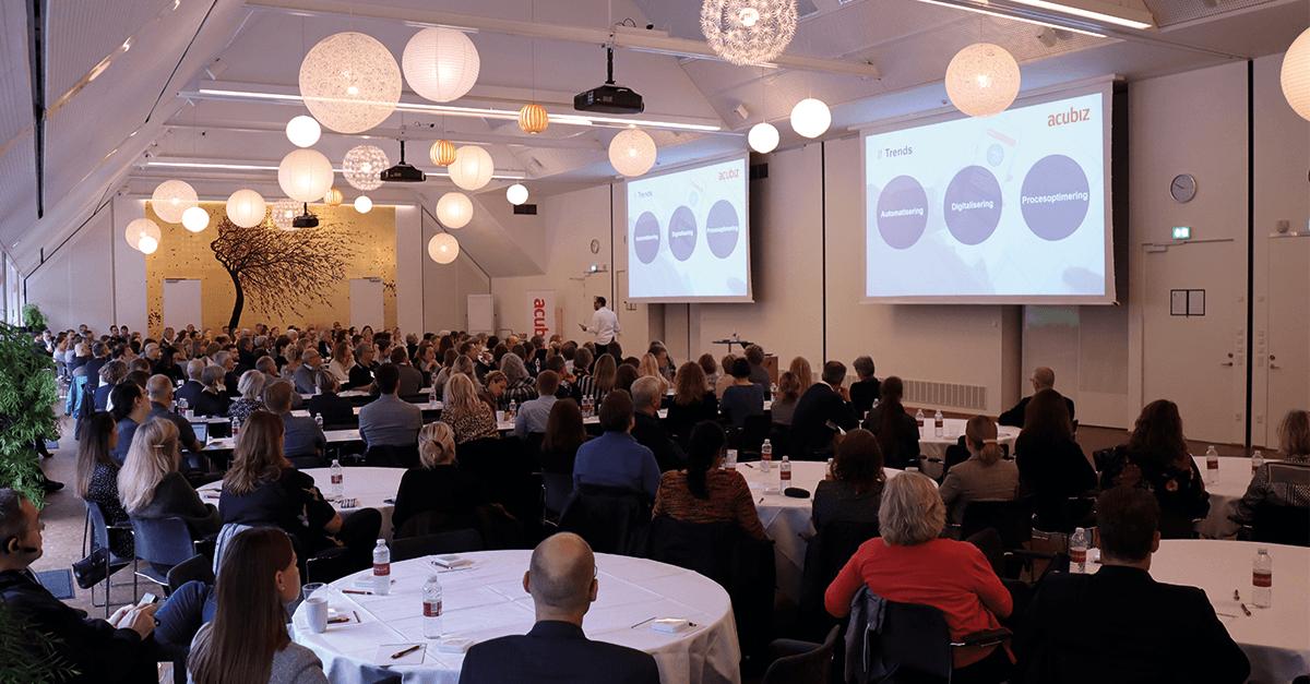 Deltagere til Acubiz Summit 2019