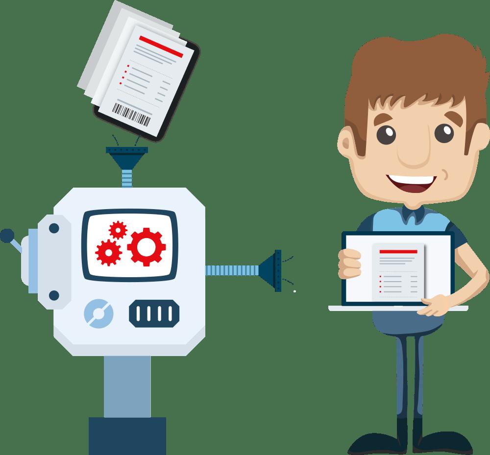 Service illustration: Invoice Management