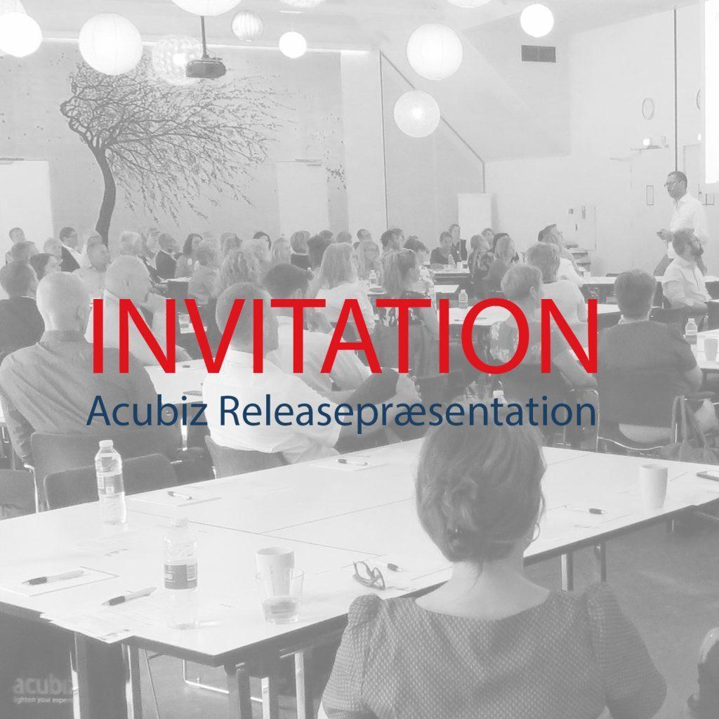 Invitation til releasepræsentation