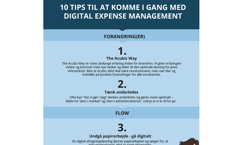 Featured: 10 tips til at komme i gang med Expense Management