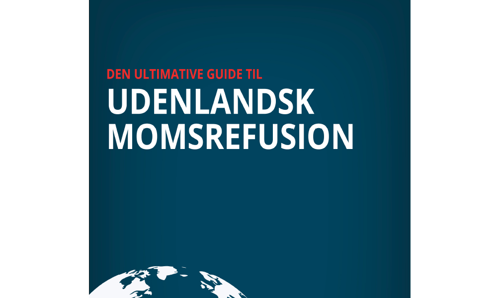 Featured: E-bog, Udenlandsk Momsrefusion