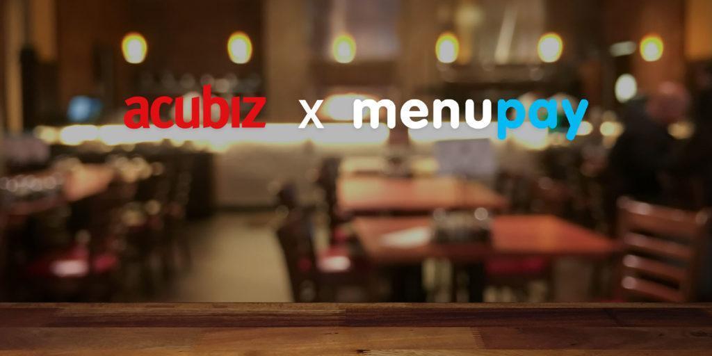 Acubiz og Menupay logo