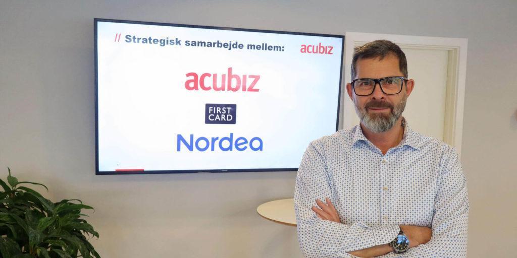 Lars de Nully, administrerende direktør i Acubiz