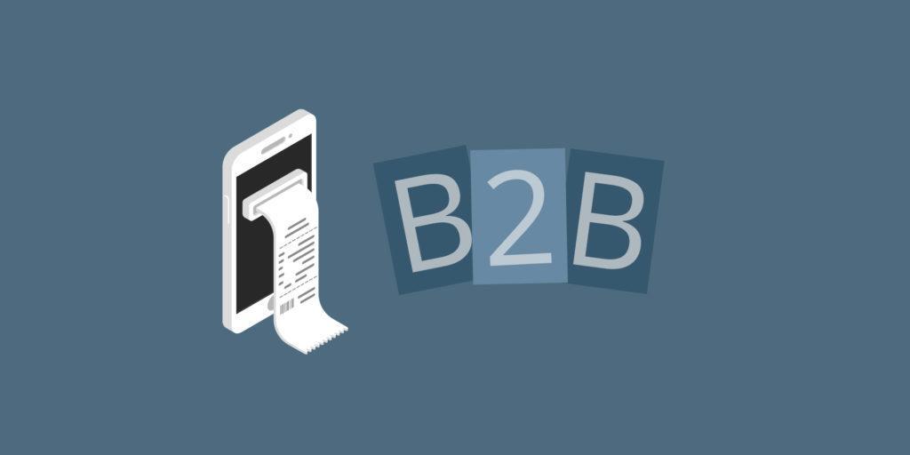 B2B og digitale kvitteringer
