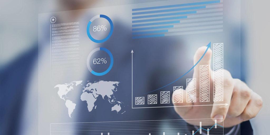 Positiv graf i en salgsorganisation