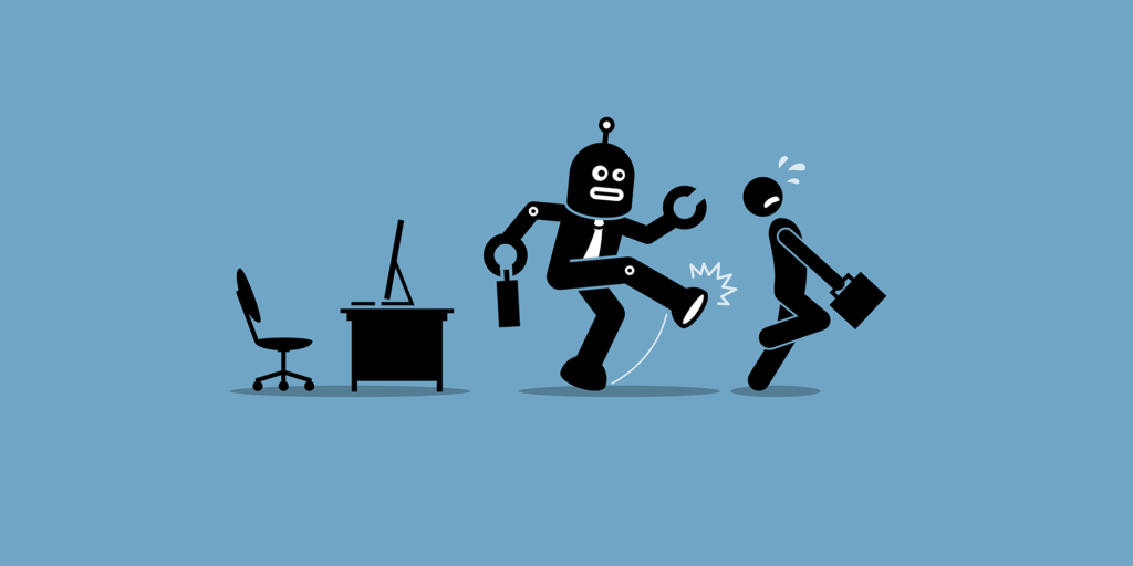 Robotterne kommer ind på arbejdsmarkedet