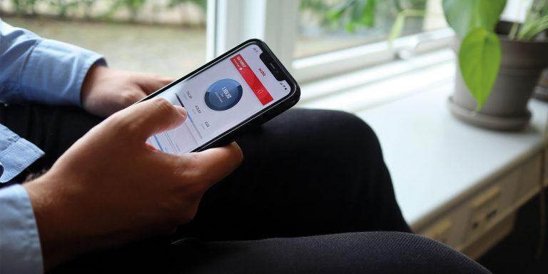 Acubiz app til udgifter i en virksomhed
