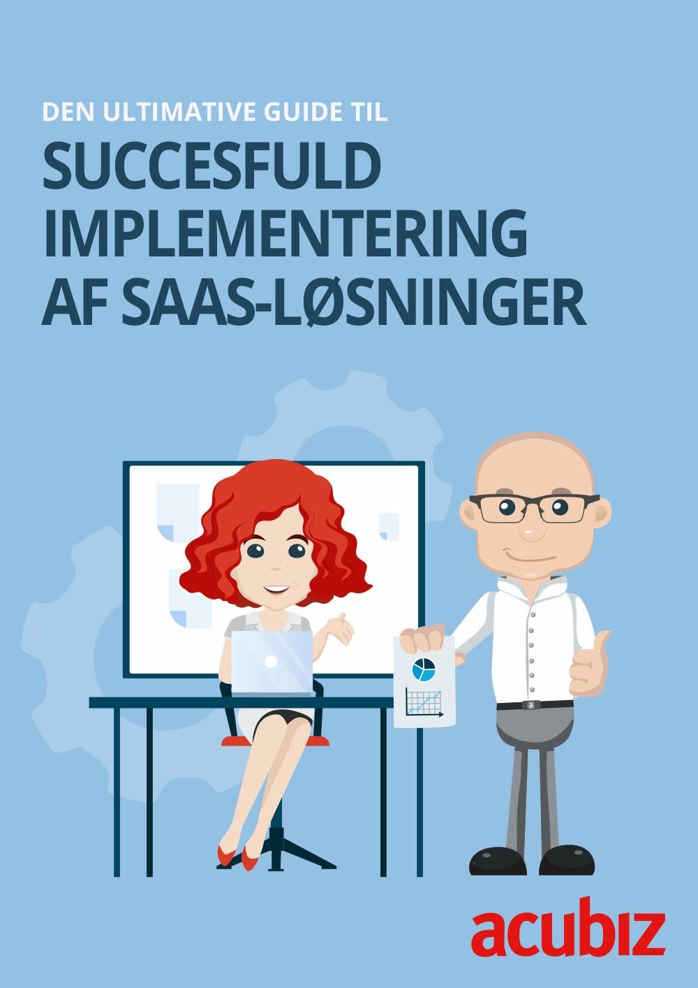 Cover: E-bog: Succesfuld implementering af SaaS