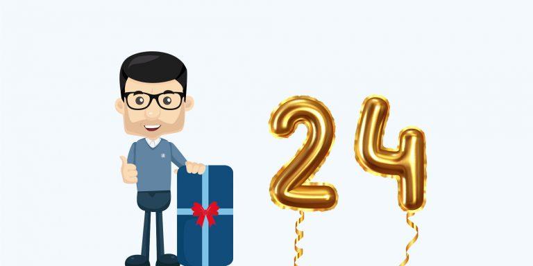 Acubiz fødselsdag