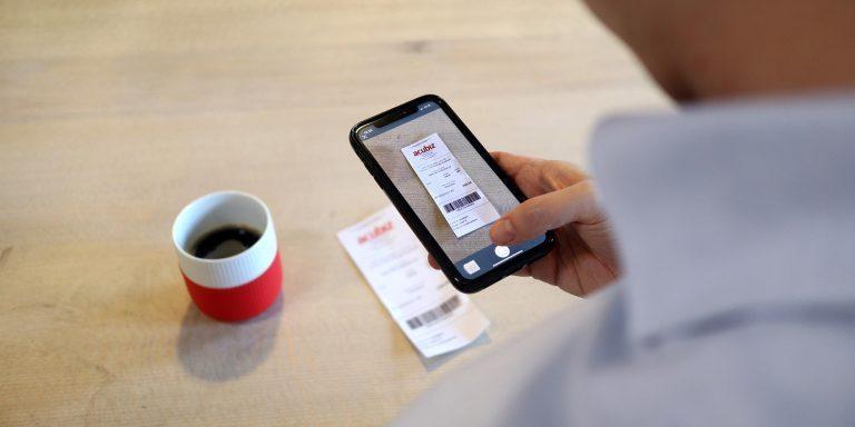 Udgifter på mobilen med Acubiz
