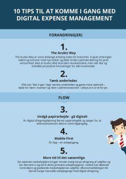 Andet, 10 tips til at komme i gang med Expense Management